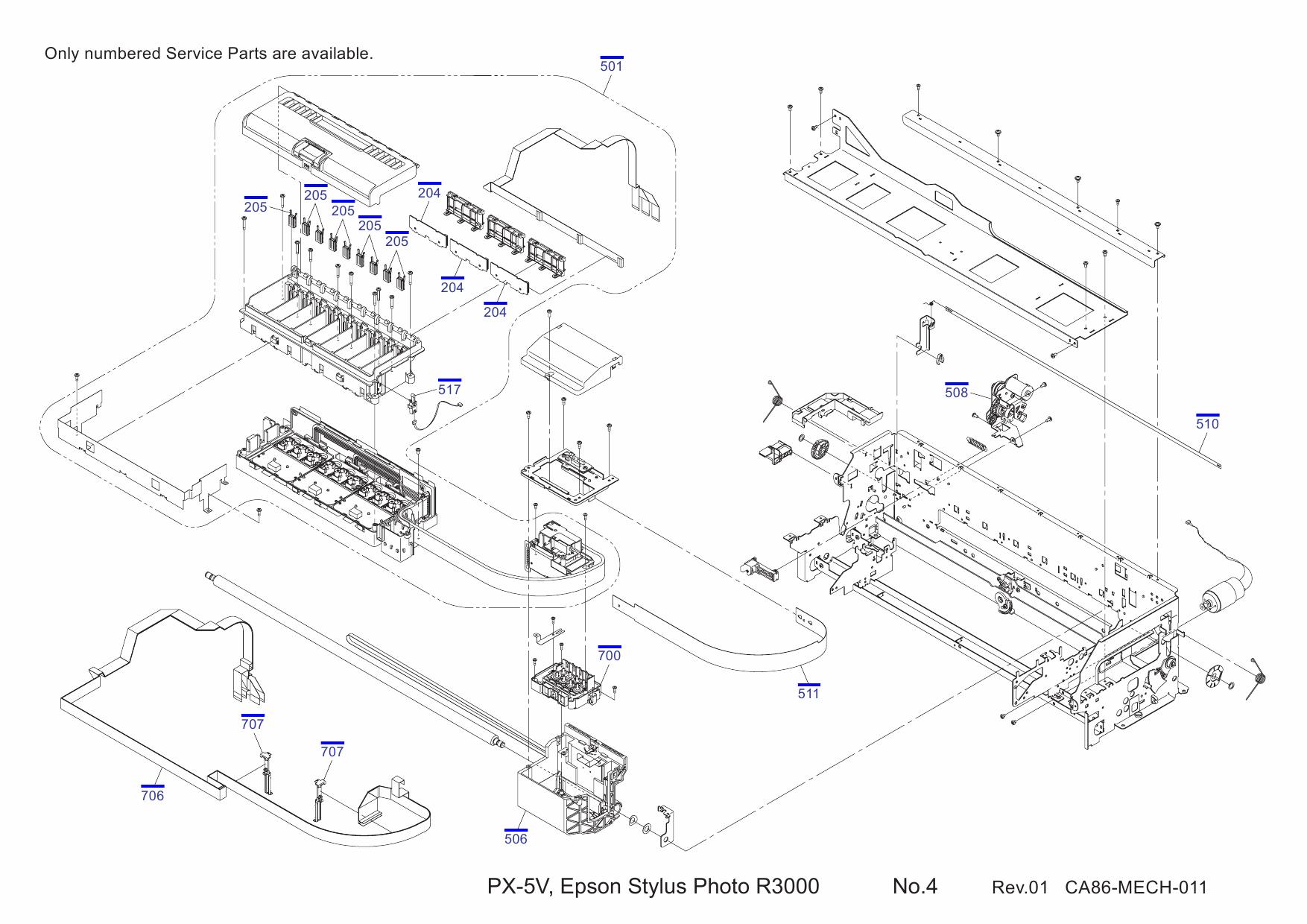 Epson Stylus 3000 Service Manual